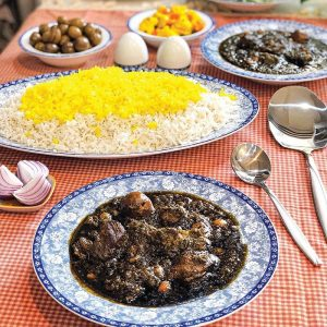 سرویس چینی زرین 6 نفره غذاخوری اصفهان (28 پارچه)