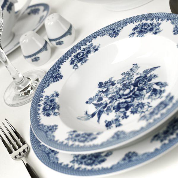 سرویس چینی زرین 6 نفره غذاخوری فلورانس (28 پارچه)