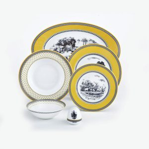سرویس چینی زرین ۶ نفره غذاخوری ویلیج (۲۸ پارچه)