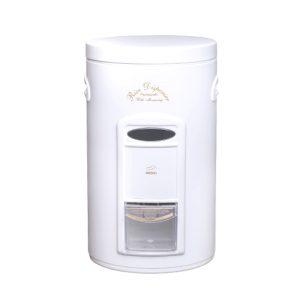 سطل برنج پیمانه دار ۱۰ کیلویی بهازکالا سفید (درب فلزی)