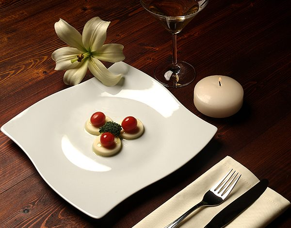 سرویس چینی زرین 6 نفره غذاخوری سفید (30 پارچه)