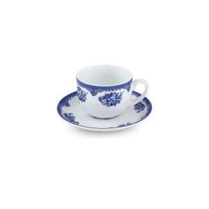 سرویس چینی زرین ۶ نفره چای خوری فلورانس (۱۲ پارچه)