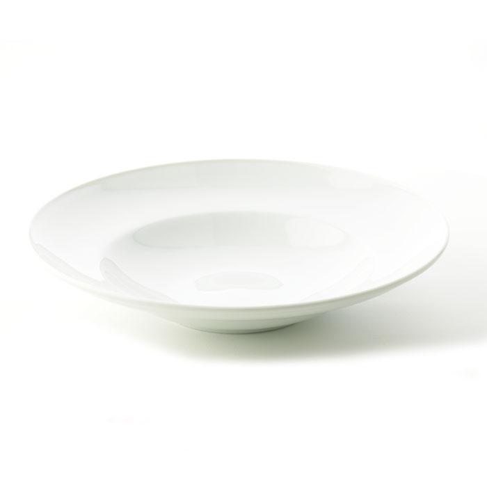ظرف پاستا چینی زرین سفید (۱ پارچه)