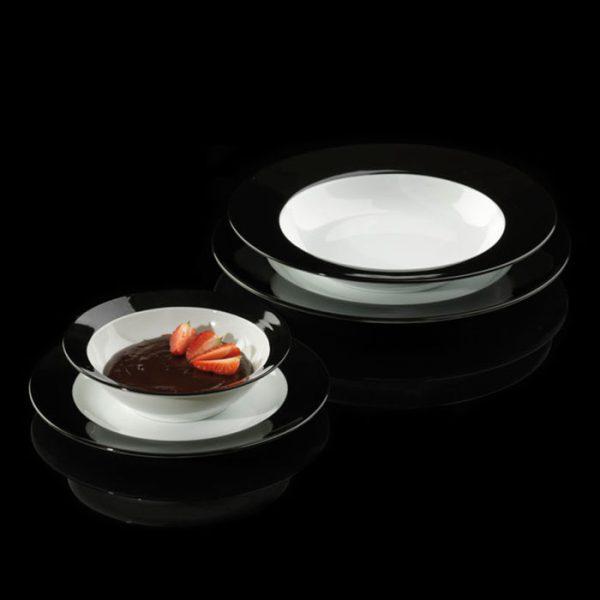 سرویس چینی زرین 6 نفره غذاخوری مهتاب (28 پارچه)