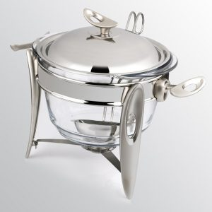 سوفله سوپ خوری بزرگ تک استیل مدل لوپ (استیل)