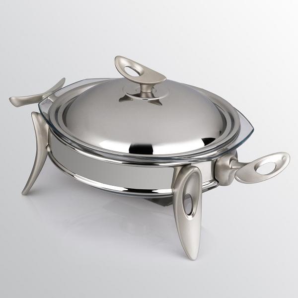 سوفله سوپ خوری کوچک تک استیل مدل لوپ (استیل)