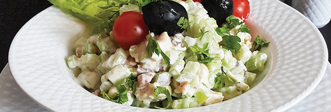salad morgh o karafs crop