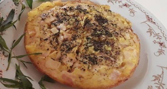 omlet kalbas