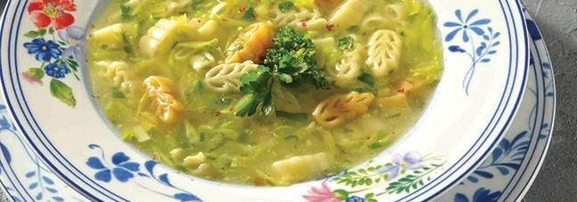 آموزش طرز تهیه سوپ کدو سبز
