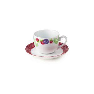 سرویس چینی زرین ۶ نفره چای خوری ردبری (۱۲ پارچه)