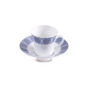 سرویس چینی زرین ۶ نفره چای خوری سلطانیه طلایی (۱۲ پارچه)