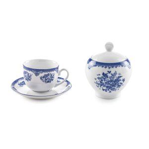 سرویس چینی زرین ۶ نفره چای خوری فلورانس (۱۴ پارچه)