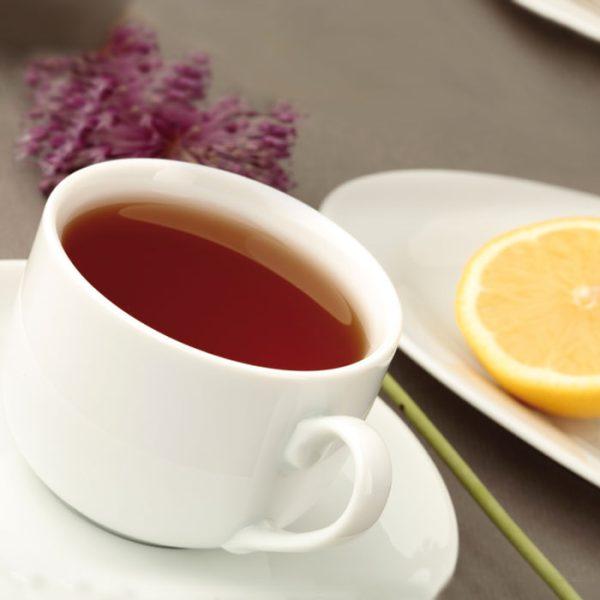 سرویس چینی زرین 6 نفره چای خوری سفید (12 پارچه)